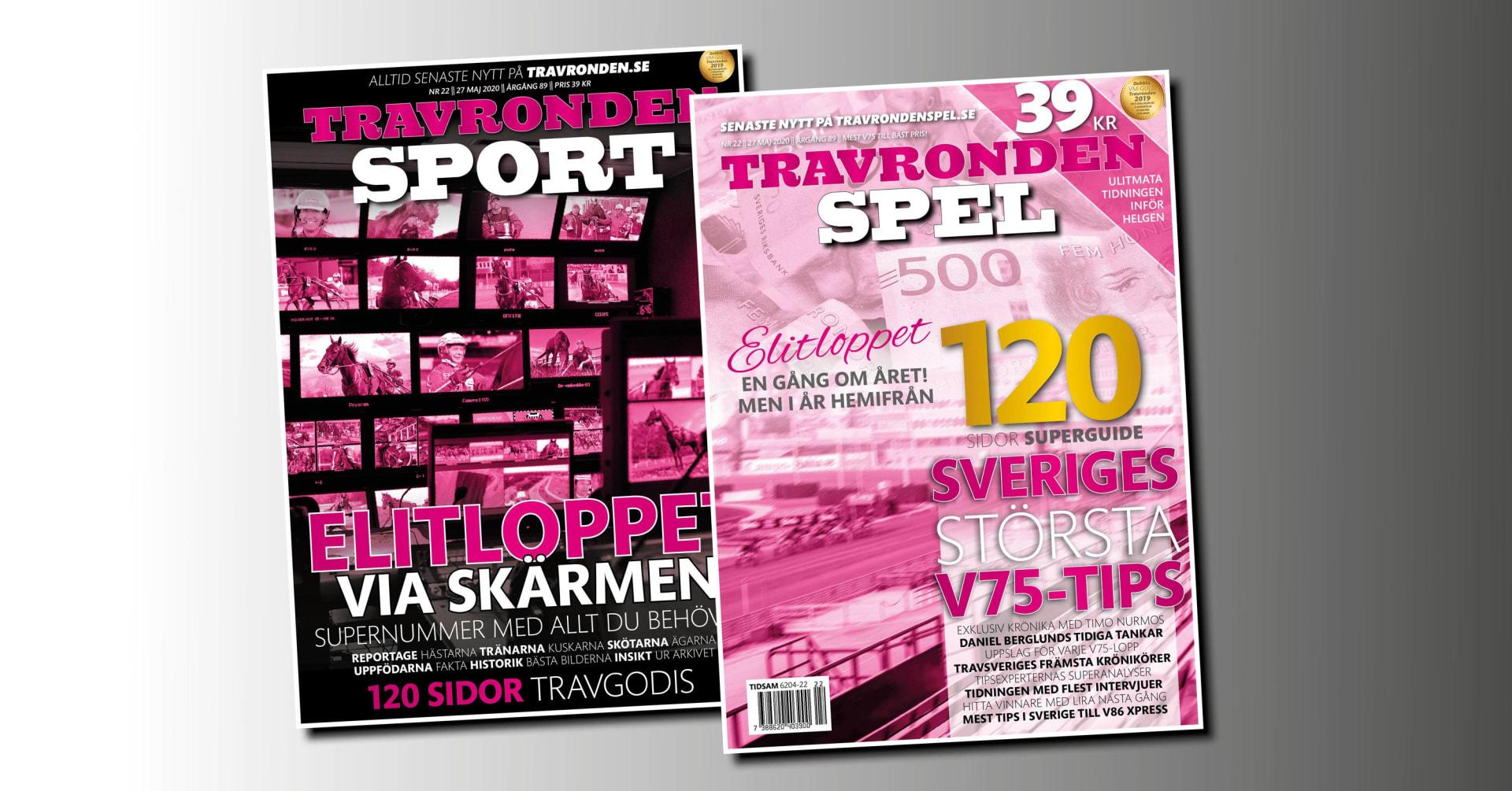 Nya nummer av Travronden Sport och Spel ute