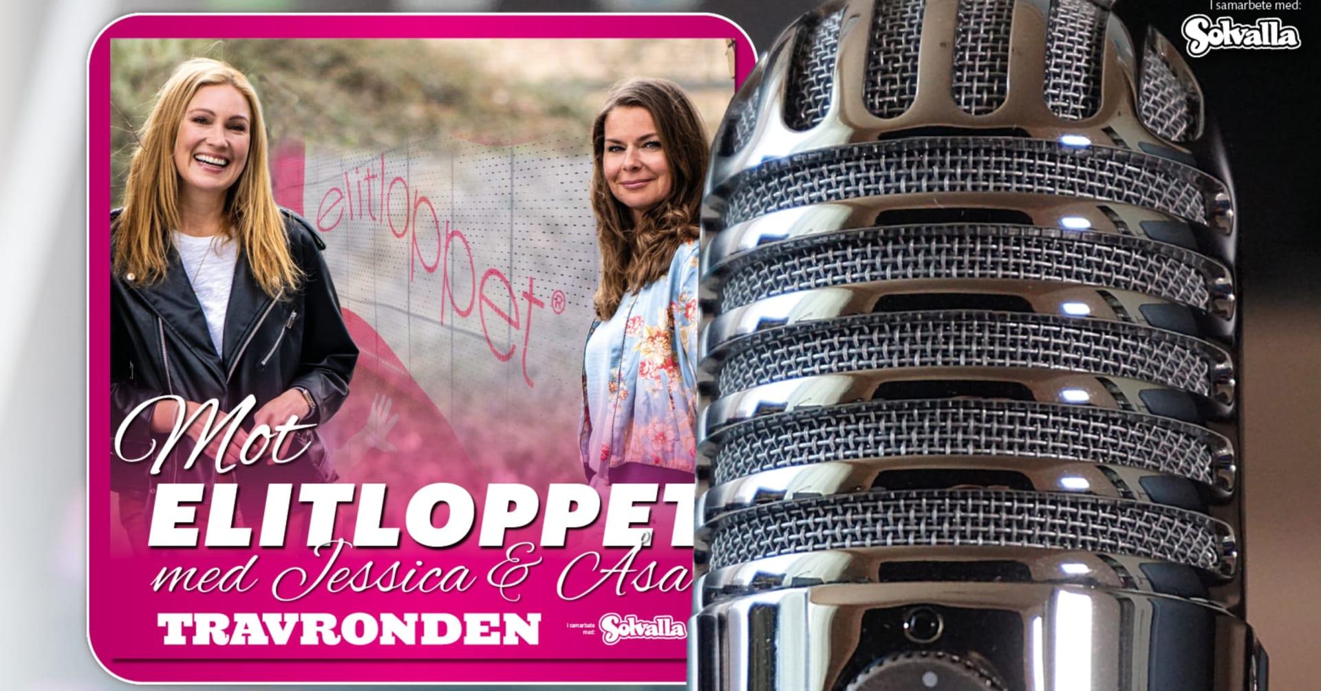 Podcast: Mot Elitloppet med Jessica & Åsa