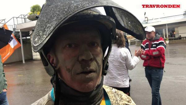 Örjan Kihlström efter segern i Olympiatravet
