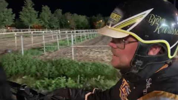 Björn Karlsson om Tangen Haaps seger på Gävletravet