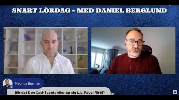 Snart lördag med Daniel Berglund inför V75 Mantorp