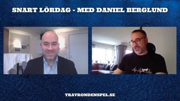 Snart lördag med Daniel Berglund inför V75 Axevalla