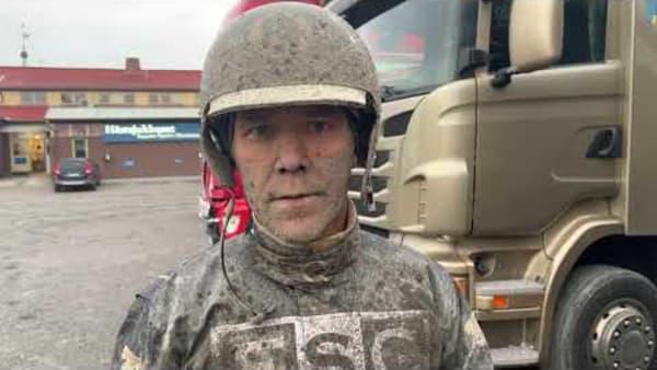 Stefan Persson efter segern i Svenskt Travoaks med Eagle Eye Sherry