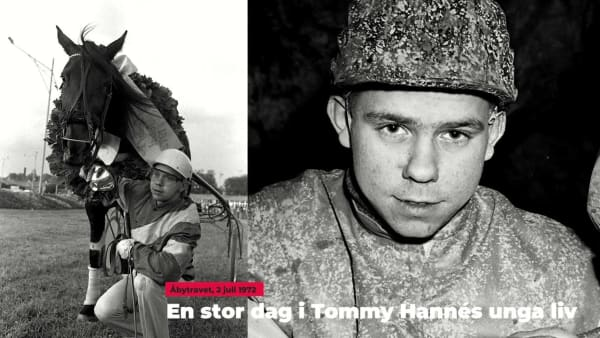 Ur arkivet: En stor dag i Tommy Hannés unga liv