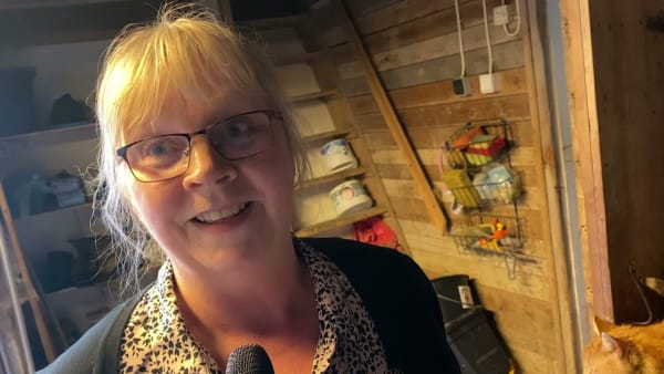 Maj-Britt Häggman mamma till bröderna Mats och Magnus Djuse som båda kör Elitloppet 2021