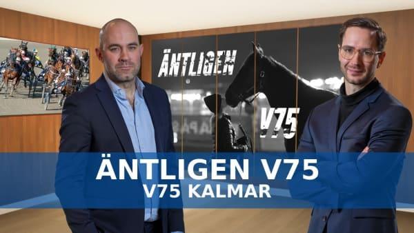 Äntligen V75 inför Kalmar 27/6