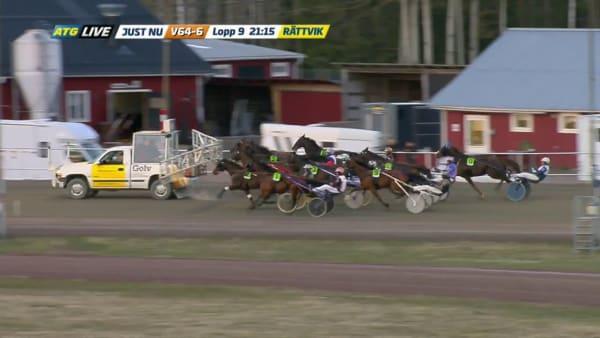 Disco Volante ledde varenda meter i Rättvik