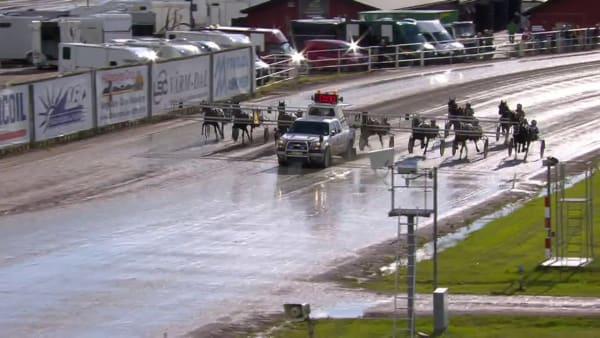 Topphästen Milligan's School vinner Årjängs Stora Sprinterlopp för Ulf Eriksson och Stefan Melander